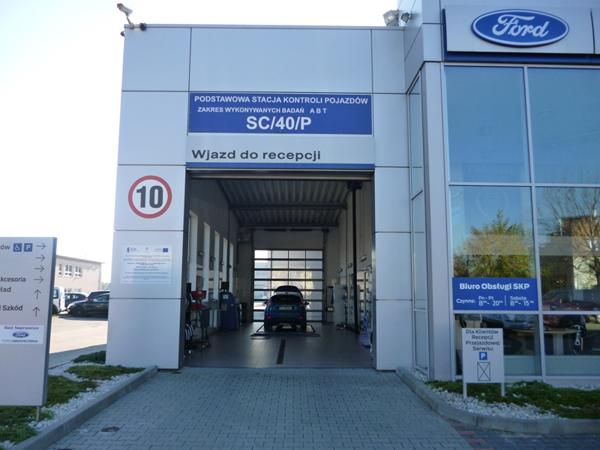 Stacja kontroli pojazdów - Ford