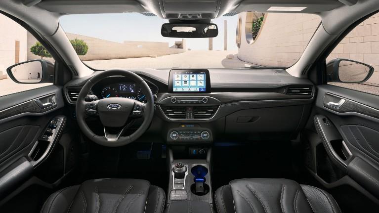 Nowy Ford Focus wnętrze